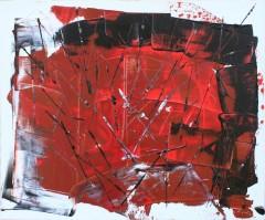 Peinture Mixte sur toile 60*50*2 Pièce unique
